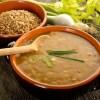 Minestre: garfagnina di farro e fagioli toscana