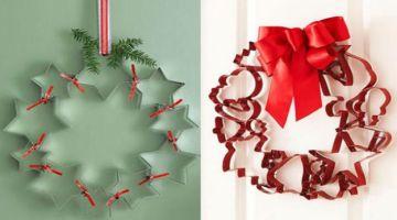 Ghirlanda natalizia fai da te: tante idee da copiare
