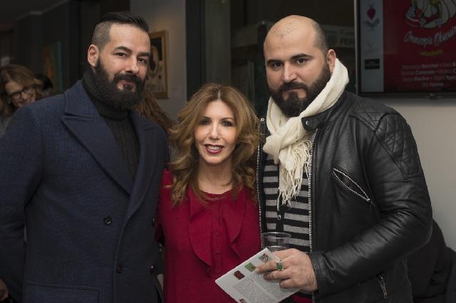 Marco Colletti, Tina Vannini e Francesco Bancheri