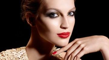 Make up Capodanno: oro, nero, rosso e tanti glitter