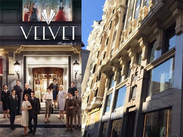 Atelier Velvet (esterno) - Zara alla Gran Via