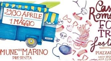 Castelli Romani Food Truck Festival: dal 29 aprile al 1°maggio