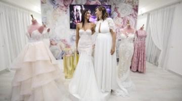 Moda sposa: l'eleganza degli abiti della Maison Maria Laurenza incanta Roma