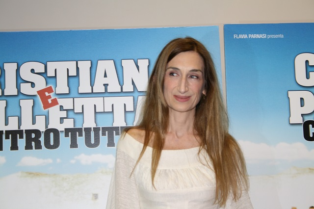 """Giselda Volodi all'anteprima di """"Cristian e Palletta contro tutti"""""""