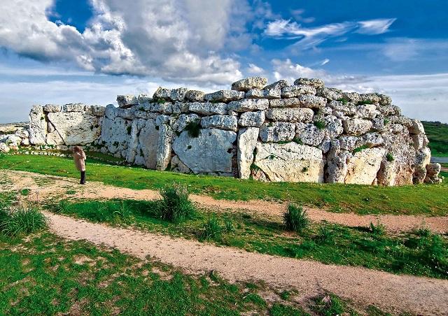 Gozo - Xaghra Ggantija Temples by Clive Vella