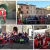 Gustando il Natale in bici con Babbo Natale a San Lorenzo in Campo