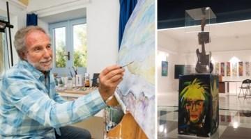 Life Art Gallery di Battipaglia: tra i colori di Warhol e le pennellate di Fezza
