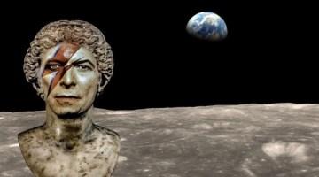 Far above the moon: la mostra su David Bowie a SpazioCima