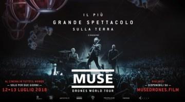 Muse: Drones World Tour arriva al cinema solo per due giorni 12-13 Luglio 2018