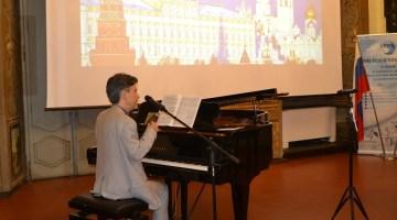 I concerti e non solo dell'amicizia 2018: magnifica esibizione del Maestro Aurelio Canonici