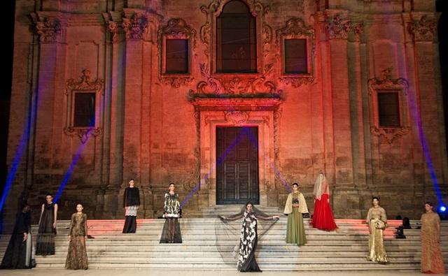 Premio Moda Città dei Sassi 2015: sfilata Michele Miglionico. (ph. EnzoDell'Atti)