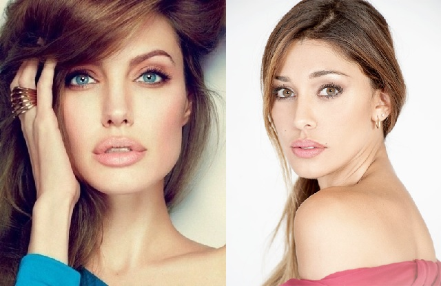 Angelina Jolie, Belen Rodriguez