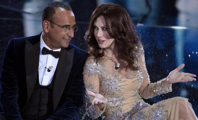 Sanremo 2016: Carlo Conti e Sabrina Ferilli/Virginia Raffaele