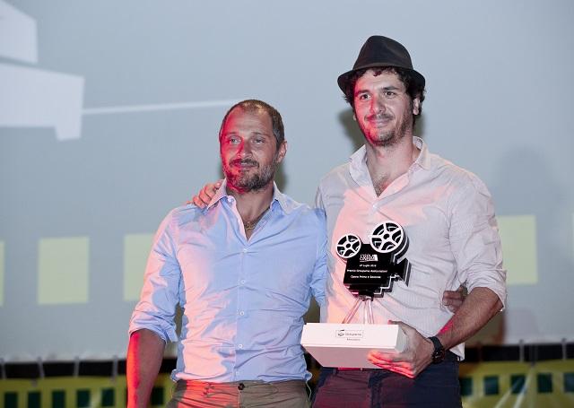 Claudio Santamaria e Gabriele Mainetti