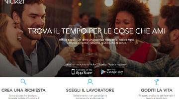 """Vicker: la nuova app per trovare lavoro e """"più tempo libero"""""""