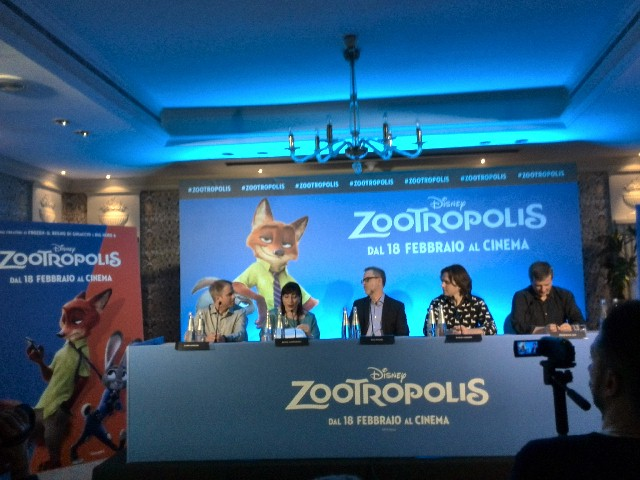 Zootropolisi: Clark Spencer, Rich Moore e Byron Howard