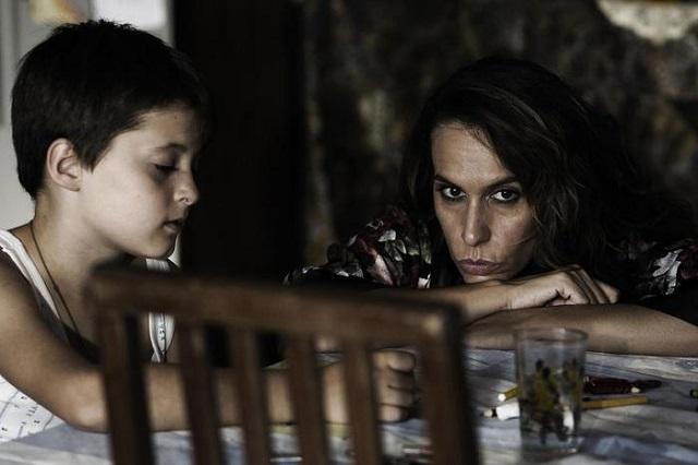 Eva Basteiro (madre di Coco)e il piccolo protagonista Flavio (Coco bambino nel film)