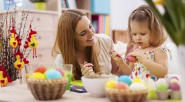 come decorare uova di pasqua con i bambini