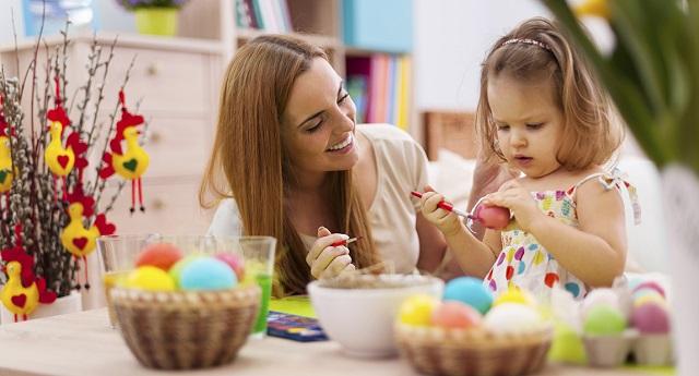 Paqua con i bambini come decorare le uova - Decorare uova di pasqua ...