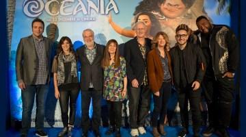 Oceania: presentazione del nuovo film Disney di Natale (video e backstage)