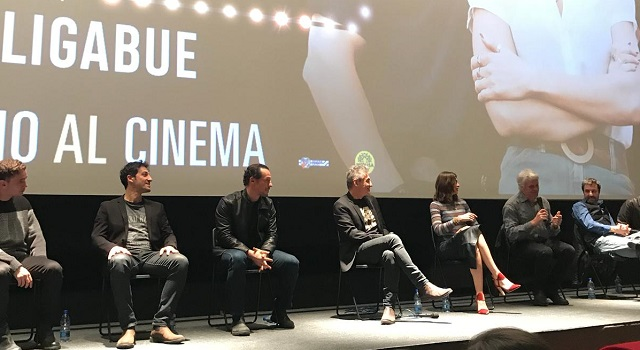 Luciano Ligabue presenta il suo nuovo film