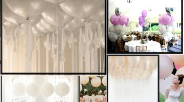 Palloncini matrimonio: le idee per rendere magico il grande giorno