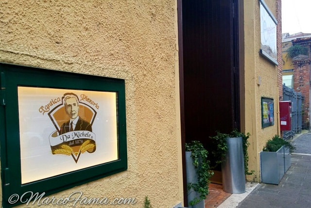 l antica pizzeria da michele inaugurazione