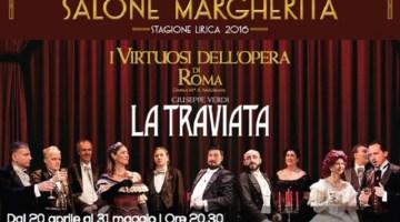 La Traviata regia di Pingitore: dal 20 aprile al Salone Margherita