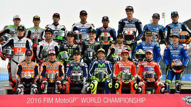 MotoGP 2016 - piloti