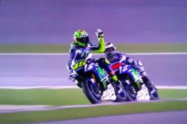 MotoGP 2016 - Valentino Rossi e Jorge Lorenzo