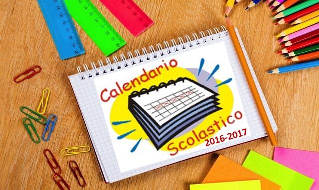Calendario Regionale Abruzzo.Calendario Scolastico 2016 2017 Regione Abruzzo Il Guiscardo