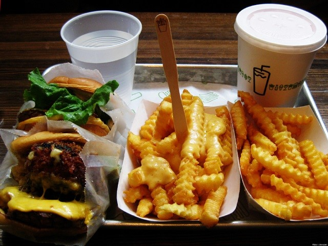 Hamburger di Shake shack