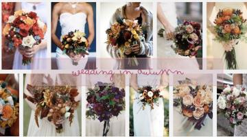 Bouquet sposa autunno: i fiori da scegliere mese per mese