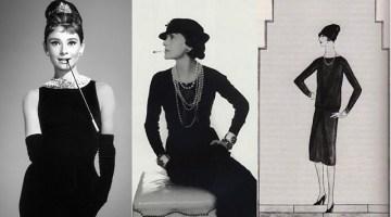 Il little black dress di Chanel, ovvero il tubino nero, compie 90 anni