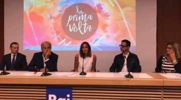 """Cristina Parodi: """"la prima volta"""" tutte le domeniche su RAI 1"""