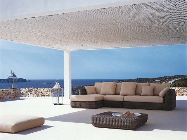 Unopi idee e mobili per dare un tocco living a terrazze for Arredi esterni per terrazze