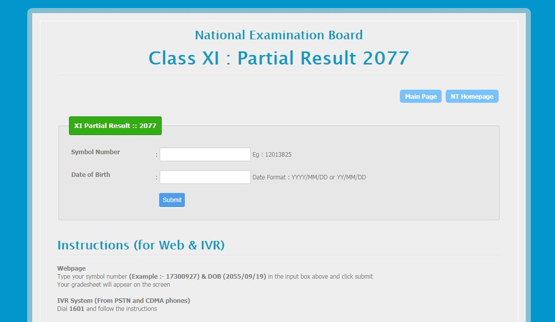 class xi result 2077 with gradesheet