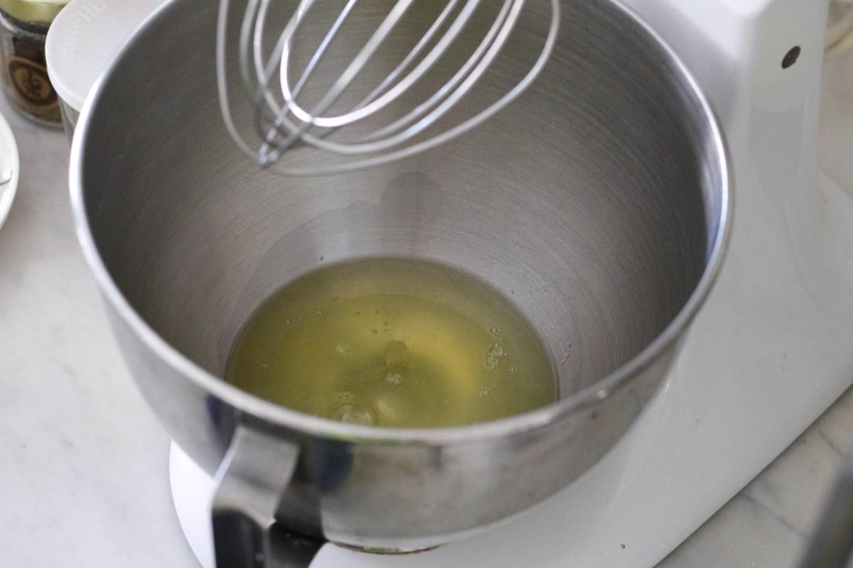 egg whites before whipping