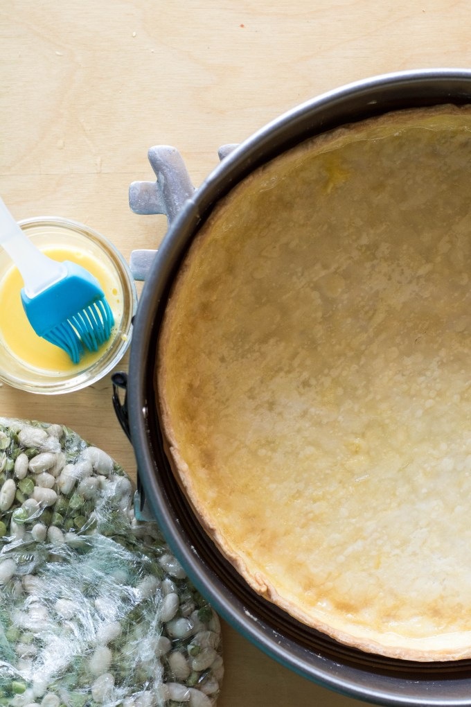 pre baked pie shell