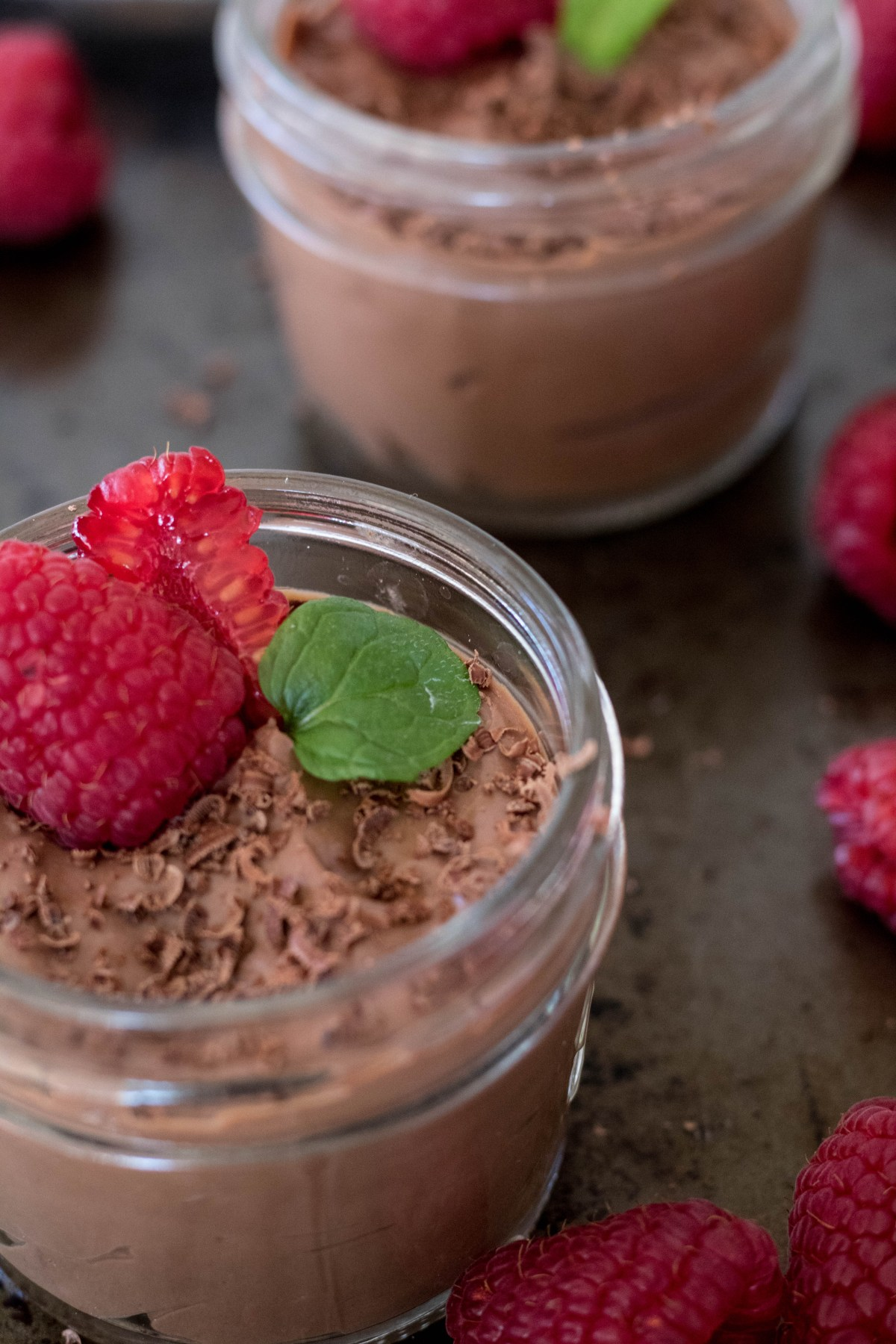 3-ingredient vegan tofu chocolate mousse