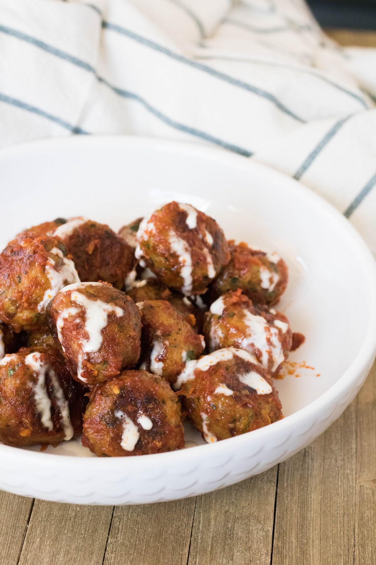Indian chicken meatballs recipe