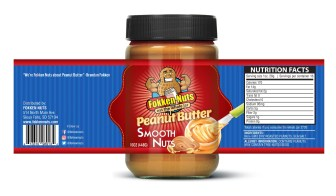 fokkennuts peanut butter