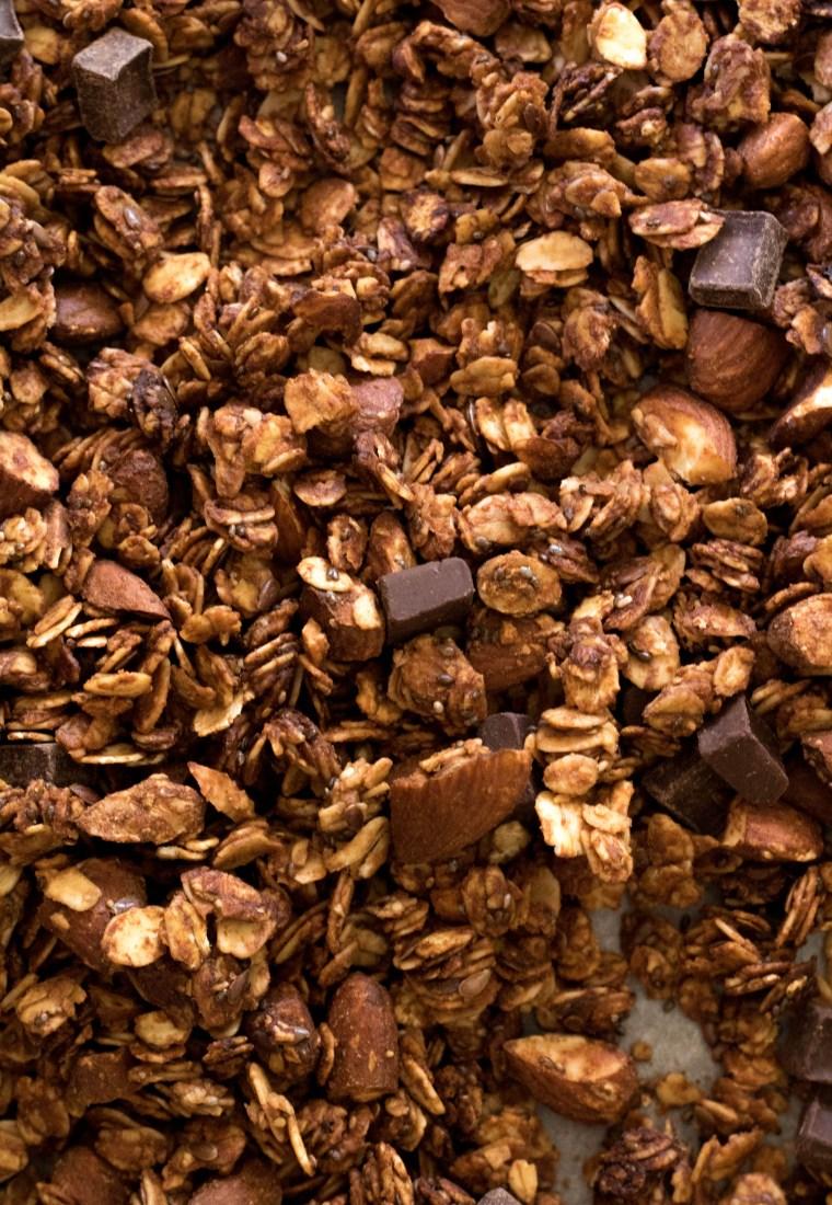 Double Chocolate Healthy Granola