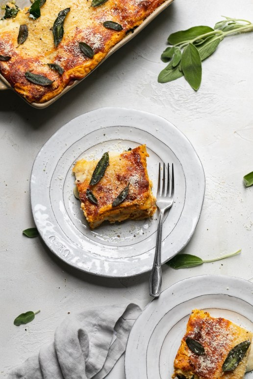 Pumpkin Kale Lasagna from spices in my DNA recipe