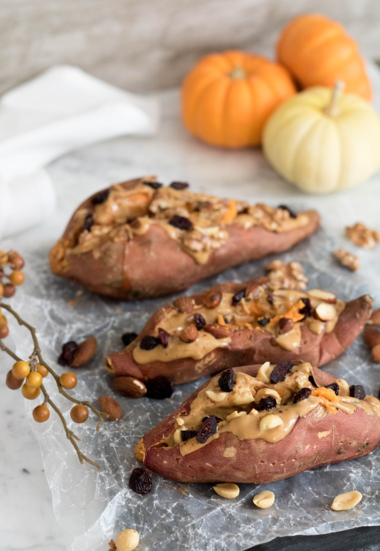 Fall Stuffed Sweet Potatoes Recipe