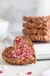 Healthy No Bake Valentine's Day Cookies