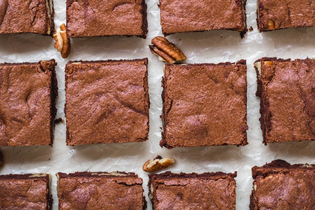 chewy Brownies With Cocoa Powder