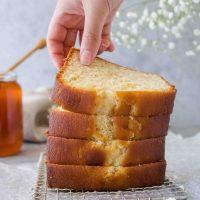Moist Honey Tea Cake Loaf Just Like Grandma's