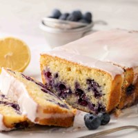 The Best Moist Blueberry Lemon Loaf Cake