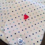 メンズオーダーシャツ刺繍,ハート